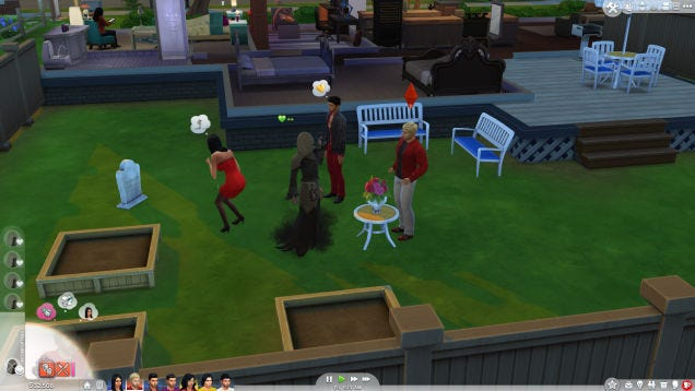 Sims 4 grim reaper dating service
