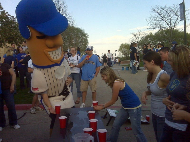 In My Acid-Soaked Daydreams, I, Too, Am Playing Flip-Cup With A Giant Sausage