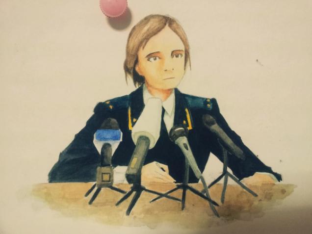 Crimea's Attorney General Spawns Anime Fan Art