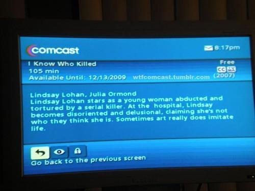 Whoever Writes Comcast's Movie Descriptions Is a Genius