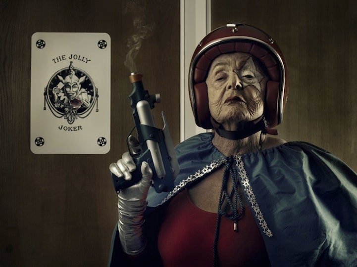 The World's Coolest Grandma Is A 91-year-old Superhero