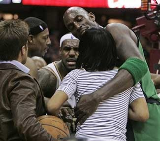 Celtics Shown Up By LeBron, Punked By LeBron's Mom