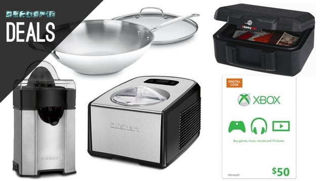 Upgrade Your Kitchen Gadgets, Fire Chest, Wrangle Cables [Deals]