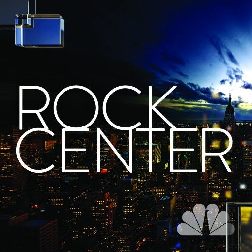 NBC Announces: 'Rock Center' to Be Completely Derivative