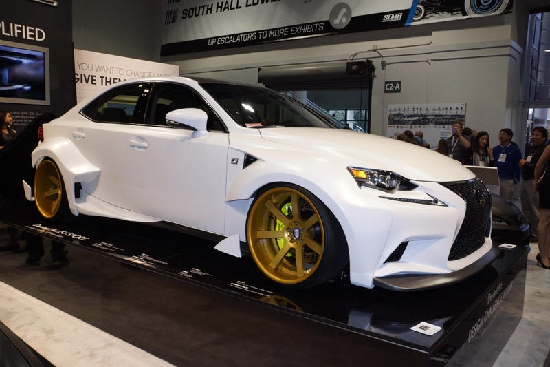 The DeviantArt Lexus IS 350 F Sport Is Mean As Hell