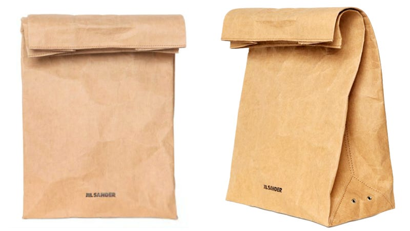 Why Did Jil Sander Make A $290 Paper Bag?