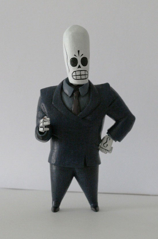 Prayers Answered: Grim Fandango Action Figures