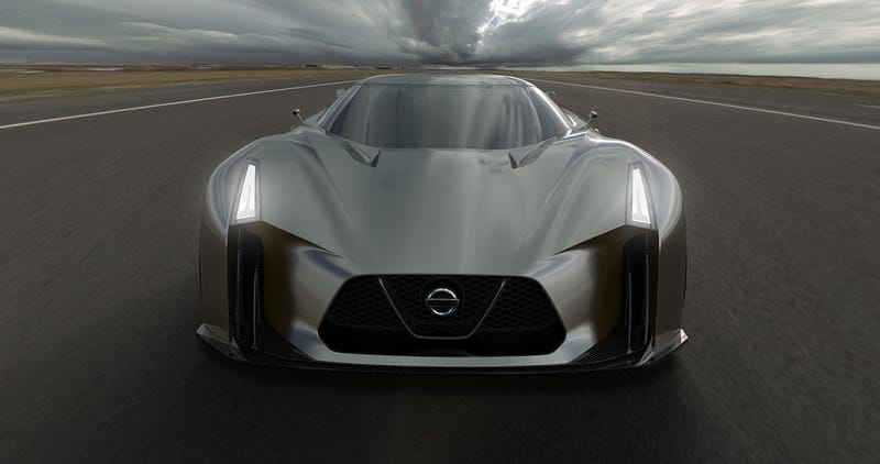 The Nissan Concept 2020 Is Obviously The Sci-Fi Future Of The GT-R