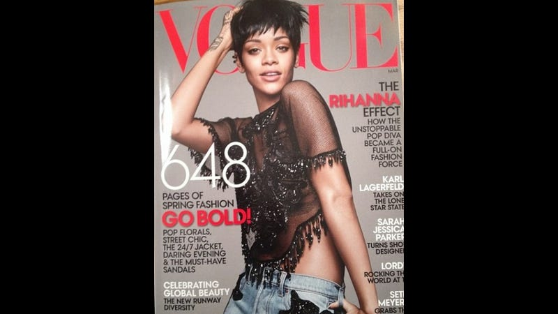 Rihanna Is on the March Cover of Vogue, Apparently