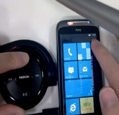 Leaked HTC Mozart Video Shows Windows Phone 7 Specs for the Nexus One Lookalike