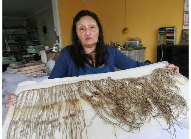 Arqueólogos descobrem um tesouro de raros Dispositivos Inca Calculando