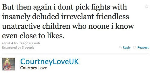 Courtney Love And Lily Allen: The Twitter Feud Continues