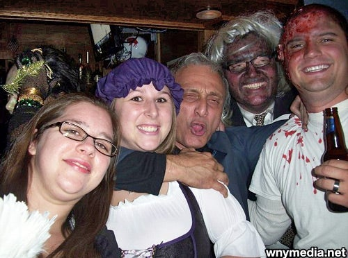 Halloween Horror: Carl Paladino Crashes Costume Party