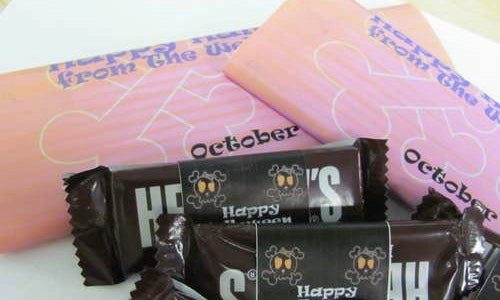 Create Your Own Custom Candy Wrappers
