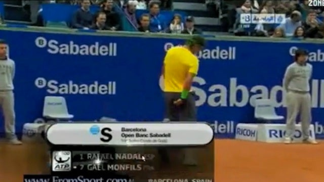 Rafael Nadal 0, His Underwear 1: A Video Montage