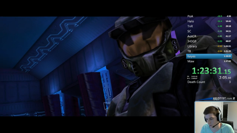 Someone Beat Halo In Under 97 Minutes for New World Record