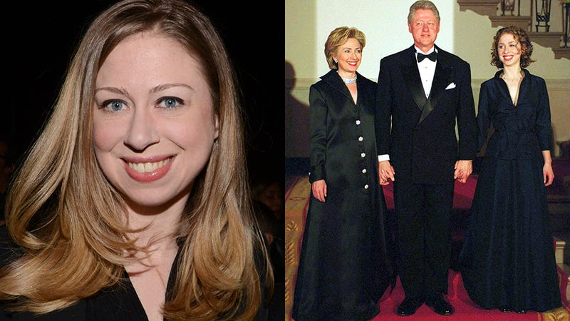 Chelsea Clinton as a White House Teen: State Dinners and Homework