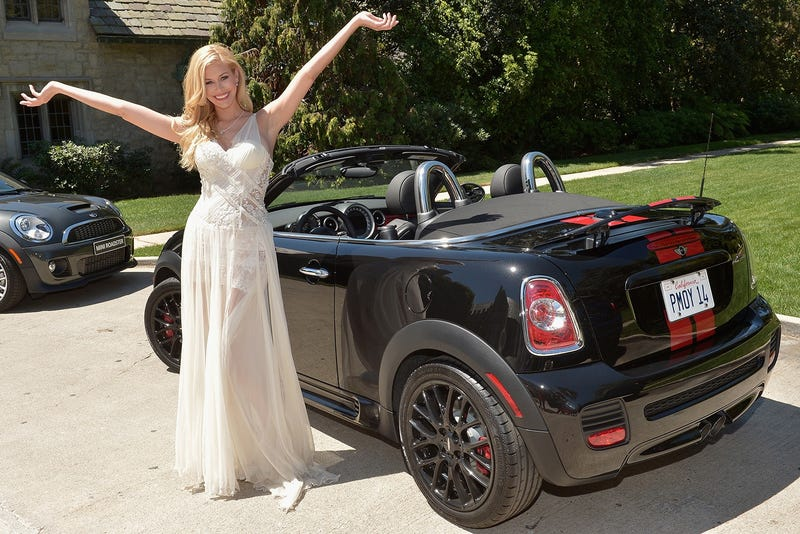Playboy Gives Its 2014 Playmate Of The Year A Mini Roadster