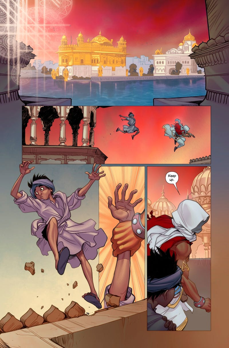 Ubisoft Reveals A New Assassin's Creed Set In India (It's a Comic)