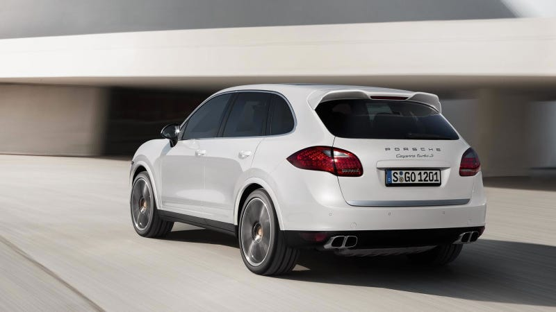 The Porsche Cayenne Turbo S Is Now Even More Ludicrously Fast