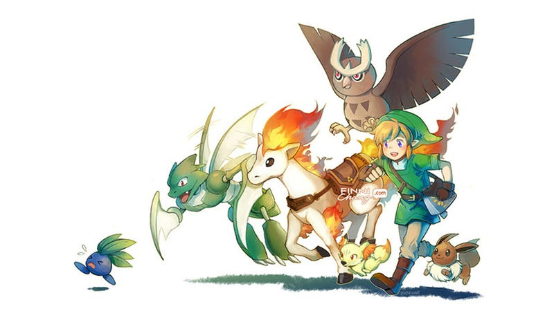 Zelda X Pokémon, If It Looked Like This, Would Probably Shift A Unit Or Two