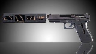 Así es por dentro y así funciona en realidad el silenciador de un arma