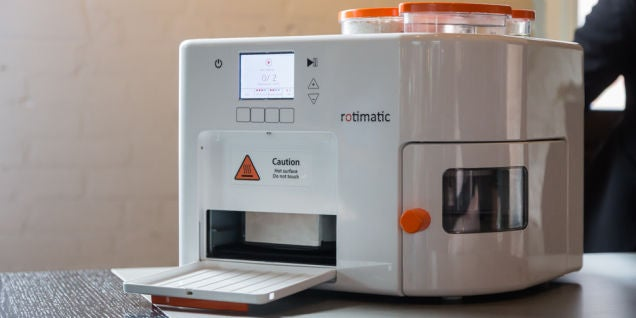 Rotimatic Hands-On: Yep, The Roti-a-Minute Magic Machine Is Awesome