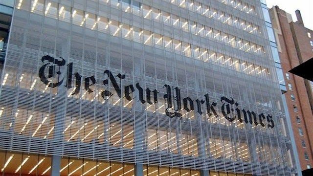 Chinese Hackers Have Been Hacking the New York Times for the Past 4 Months