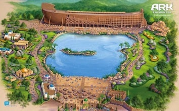 New Creationism-Themed Amusement Park Seeks Tax Breaks