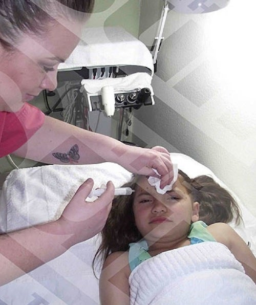 Mom Injects 8-Year-Old Daughter With Botox, Gets Her Waxed