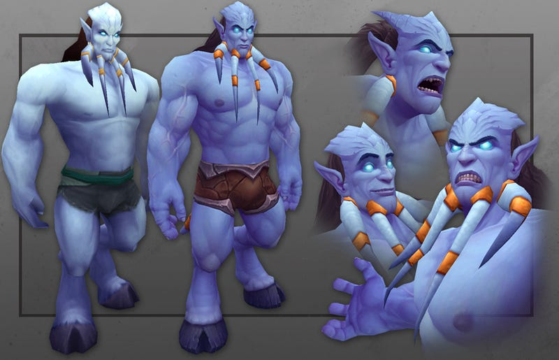 WoW's Draenei Next Up For a Visual Upgrade