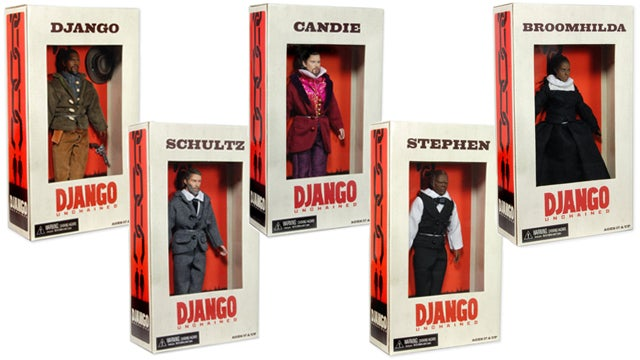 The Weinstein Company is the Last to Realize the Offensive Line of Django Unchained Action Figures is Offensive