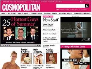 Cosmo Website Redesign Offers Fresh New Layout, Same Old Crap