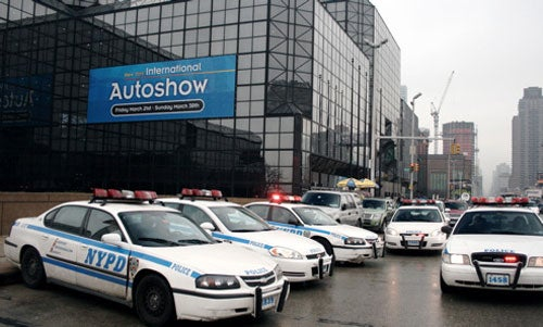 A History of New York Auto Show Violence