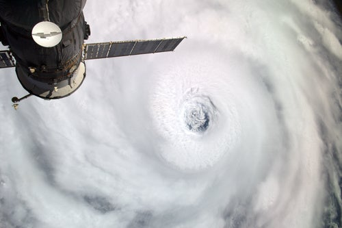Hurricane Igor Passes Bermuda