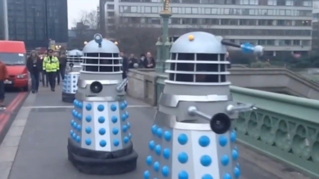 Watch the Daleks prepare to recreate their 1964 invasion of Earth