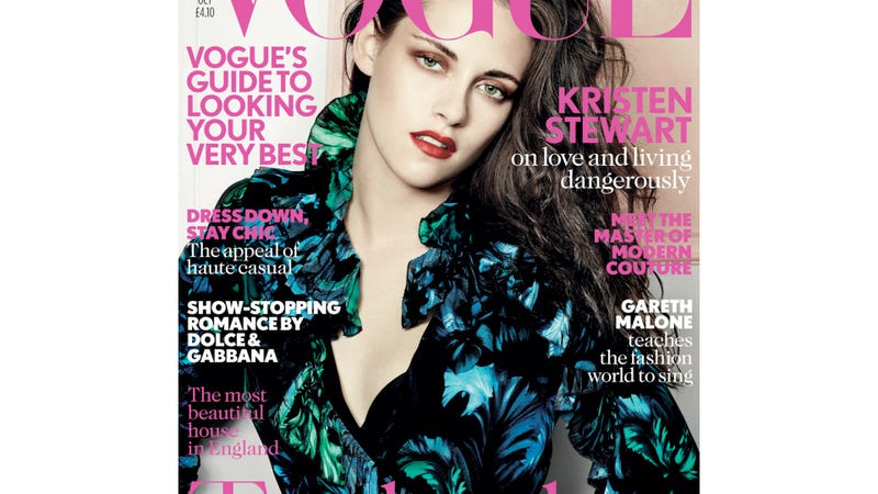 Kristen Stewart Stares Out Sadly from the Cover of British Vogue