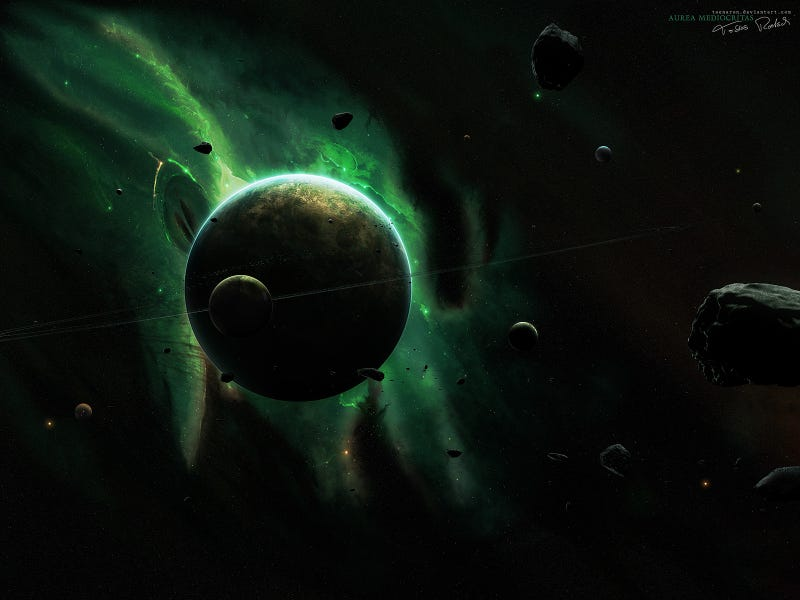 Art That Shows The Mind-Blowing Vastness Of Space