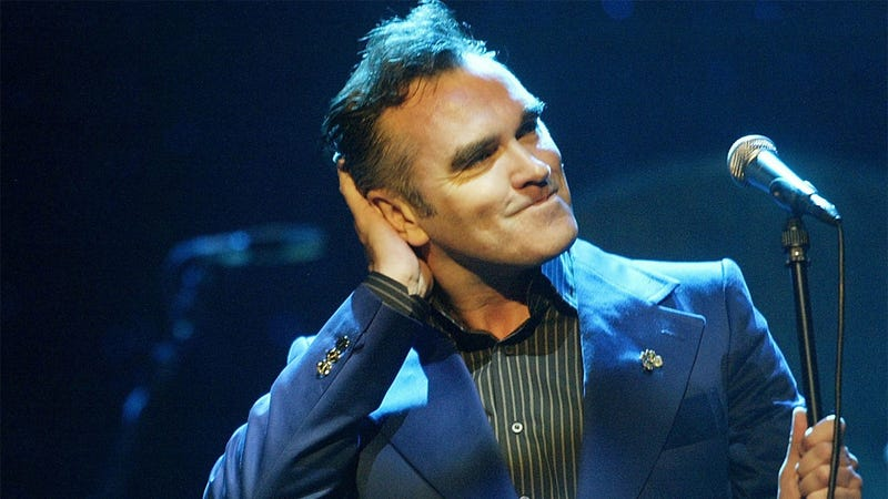 Morrissey Salvages His Own Hair Trimmings