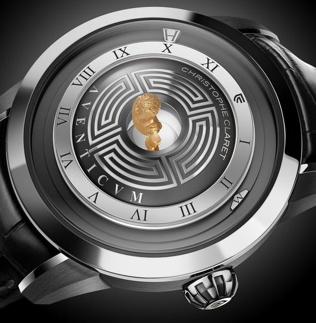 A Hologram of Emperor Marcus Aurelius Appears to Float Above This Watch
