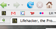 Add favicons to the Firefox bookmark toolbar