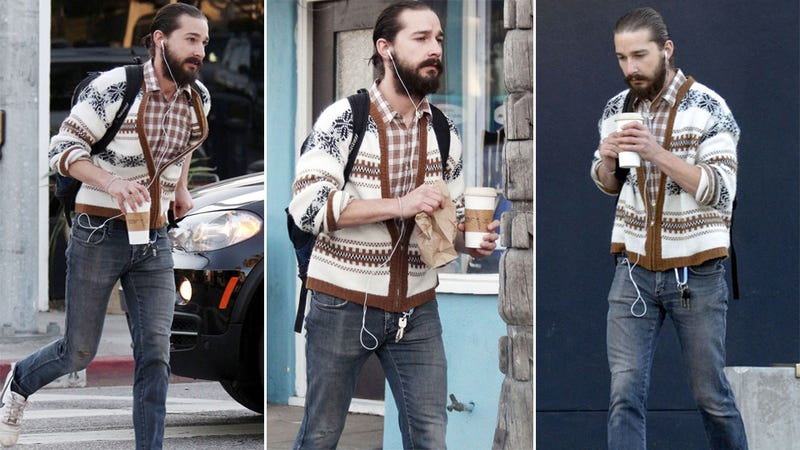 Shia LaBeouf Looks Gross