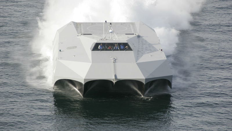 America's Largest Carbon Fiber Ship Is a Seafaring Speed Demon