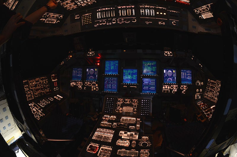 Here's your chance to take one last look inside space shuttle Atlantis
