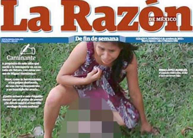 Woman Gives Birth on Health Center Lawn After Being Turned Away [NSFW]