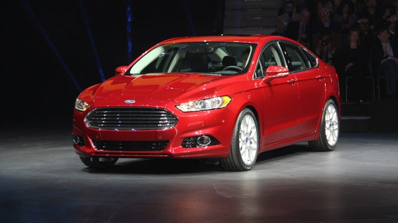2013 Ford Fusion Live Gallery