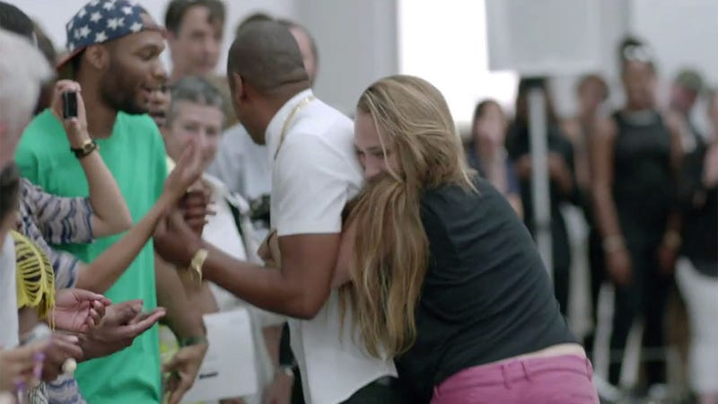 Girls' Jemima Kirke Reportedly Was Ejected From Jay Z's Video Set