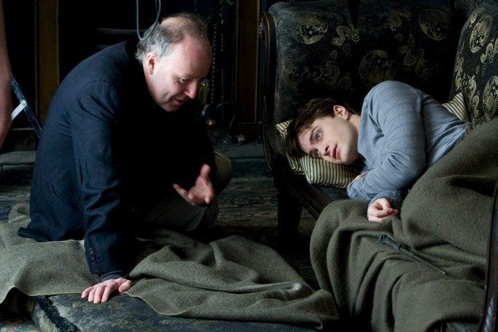 Harry Potter Deathly Hallows Set Pics