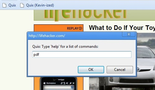 Add Universal Keyword Control to All of Your Browsers with Quix