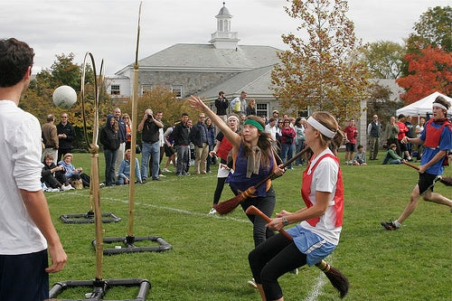 Real Life Muggle Quidditch Is Sweeping The Nation